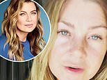 Ellen Pompeo makes an impassioned plea for fans to stay at home in a new Instagram video