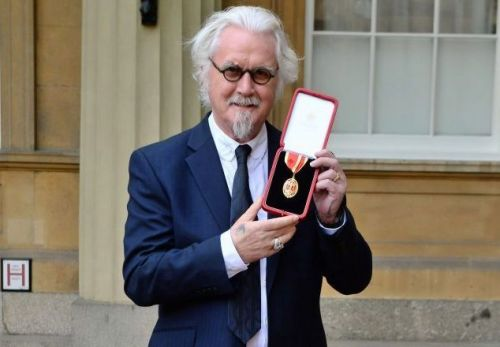Billy Connolly has stopped dipping willy into G&Ts so his next pub round is safe
