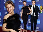 Joaquin Phoenix and Renee Zellweger glam up to receive awards at the Palm Springs Film Festival