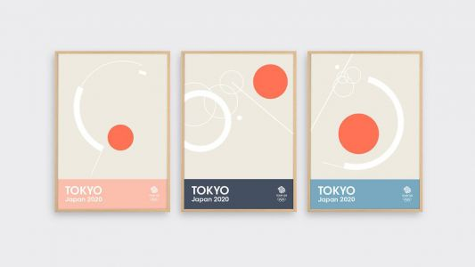 New Tokyo 2020 prints are a minimal design dream