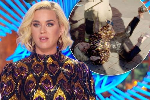 Katy Perry collapses on American Idol after being overcome by a gas leak