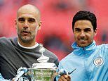 Mikel Arteta sends heartfelt message to Pep Guardiola after Manchester City manager's mother dies