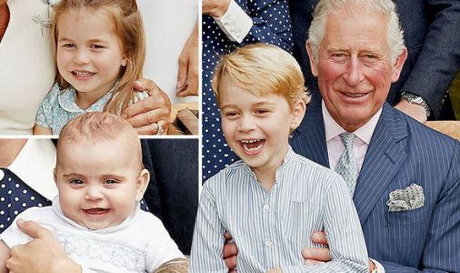 Princess Charlotte, George and Louis steal the show in Prince Charles's birthday pictures