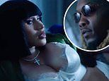 Cardi B wears lingerie in slick 29th birthday video for husband Offset