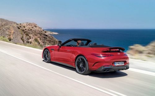 Mercedes-AMG unveils the latest generation of its convertible SL model ahead of 2022 launch