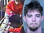 VIDEO: Arizona man, 26, dumps a woman out of her wheelchair but train passengers chase him off