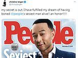 John Legend named 2019 Sexiest Man Alive as wife Chrissy Teigen hilariously responds on Twitter
