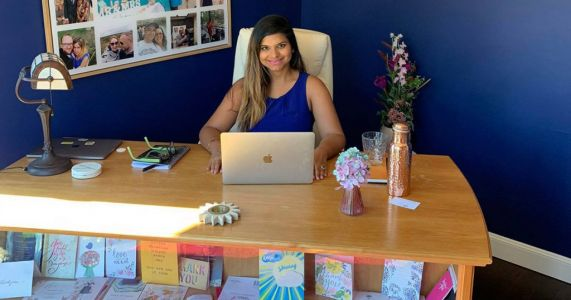 Where I Work: Sami, the dating coach who's working from home with her four-year-old while pregnant