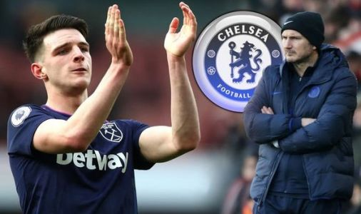 Frank Lampard coy on Chelsea's Declan Rice interest and refuses to rule out more arrivals