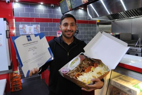 Spice Lounge takeaway in Ayr gets top honour for food and service
