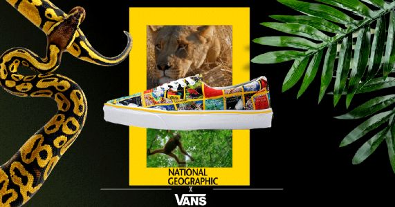 Vans teams up with National Geographic to create shoes covered in stunning photography