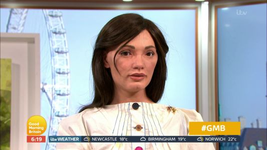 Susanna Reid gets freaked out by robot that LOOKS like her and speaks on Good Morning Britain