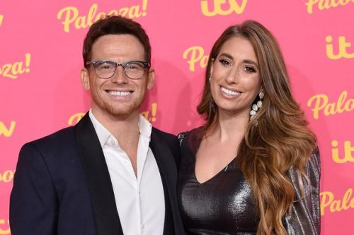 Stacey Solomon candidly says Joe Swash can't look at photos of his late dad