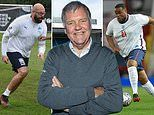 Clive Tyldesley 'sacked by Soccer Aid after he was slammed for fat-shaming Tom Davis and Chunkz'
