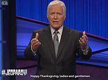 Alex Trebek recorded Thanksgiving message before his death urging America to 'keep the faith'