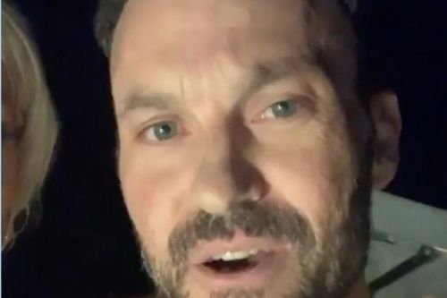Brian Austin Green sparks romance rumours with Courtney Stodden in bizarre video