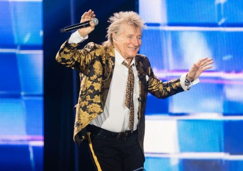 Rod Stewart and son Sean plead not guilty to allegedly punching a security guard