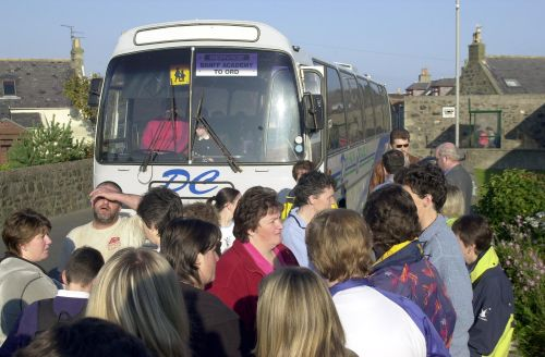 Free school transport for Aberdeenshire pupils in order to avoid £9m bus bill