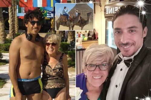 """Iris, 80: """"I can't wait to wed Egyptian toyboy, 35 - there's no way he's after my money"""""""