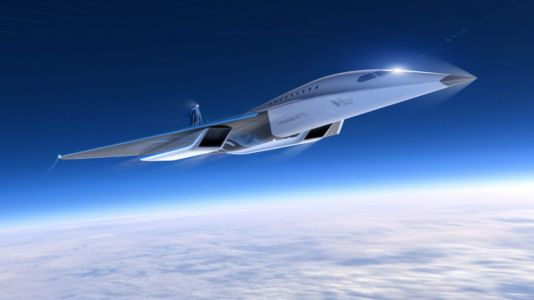 Virgin Galactic and Rolls Royce unveil supersonic jet that can fly to New York in 90 minut