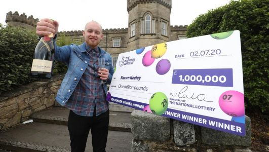I thought someone was playing a prank, says NI man who scooped £1m