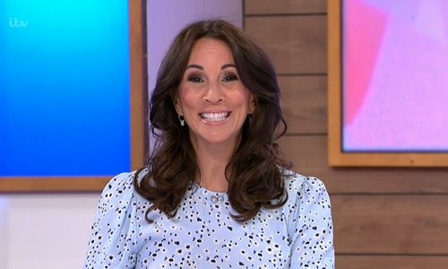 Loose Women's Andrea McLean just totally wowed us in this Monsoon dress - and it's selling fast