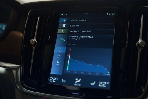 Volvo's air quality sensor will tell you how polluted the air in your car is