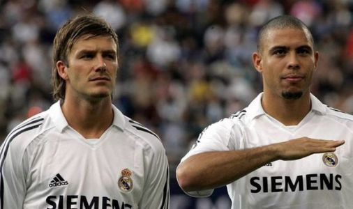 David Beckham hailed as 'one of the best of all time' by Brazil legend Ronaldo