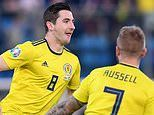 San Marino 0-2 Scotland: Kenny McLean and Johnny Russell goals secure victory in EURO 2020 qualifier