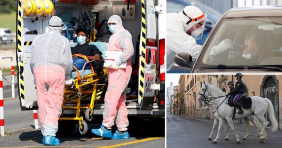 Italy records lowest number of new coronavirus cases in three weeks