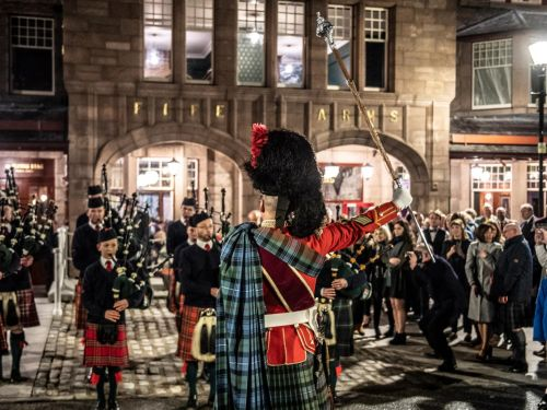 Celebrate top Scottish talent at hotel's Burns Night dinner