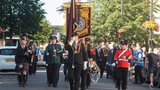 Apprentice Boys hold low key 'Relief of Derry' parade