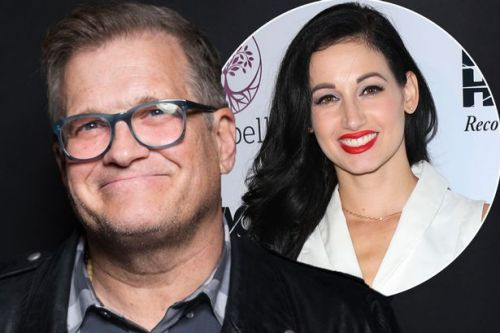 Drew Carey breaks down on live radio as he opens up about death of ex-fiancée