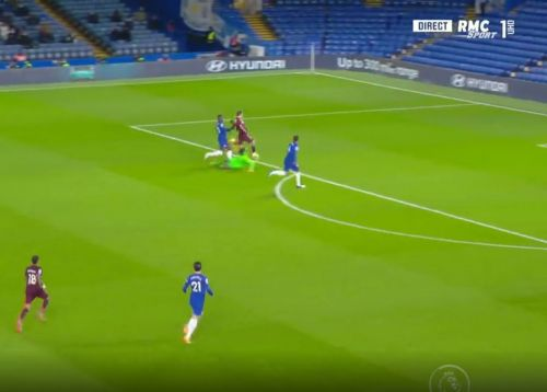 : Former Chelsea player scores against the Blues after beautiful pass
