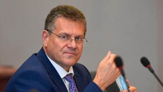 A 'sausages war' can still be avoided, says Sefcovic