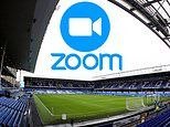 Everton stars 'using Zoom to allow players to receive updates and advice on injuries'