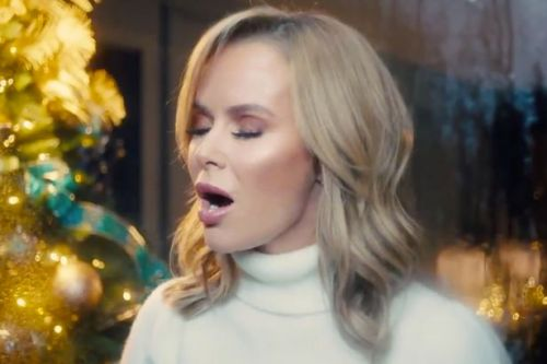Amanda Holden releases Christmas single's music video and fans are 'in tears'