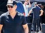 Matt Damon and wife Luciana depart Ibiza with Chris Hemsworth and Elsa Pataky after wild weekend