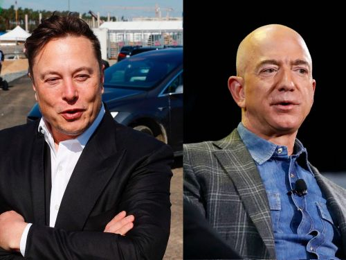 Elon Musk accuses Amazon of trying to 'hamstring' SpaceX's Starlink satellite project, but Amazon says SpaceX is trying to 'smother competition'