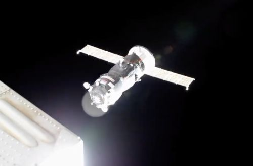 Progress docking marks second cargo ship arrival at space station in two days