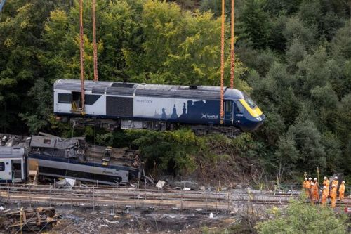 Stonehaven railway line between Aberdeen and Dundee to reopen after horror crash