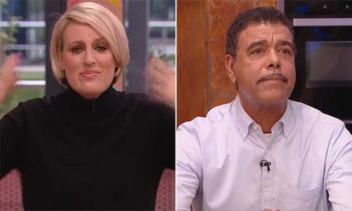 Steph McGovern bursts into tears after Chris Kamara recalls experience with racism
