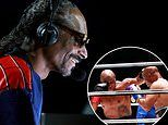 Snoop Dogg steals the show with commentary during Mike Tyson versus Roy Jones Jr boxing exhibition