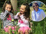 The Rolling Stones' Ronnie Wood's, 72, twin daughters Alice and Gracie celebrate their 4th birthday