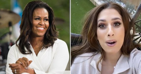 Stacey Solomon shocked as 'queen' Michelle Obama name-drops her on Instagram