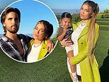 Kylie Jenner rocks trench coat over figure-hugging white mini dress for photo with daughter Stormi