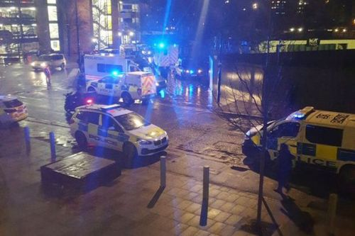 East Croydon station stabbing as man 'attacked with machete at ticket barriers'