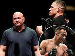 Dana White reveals he is working on Nate Diaz's return to the octagon