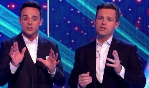 Ant and Dec left red-faced as audience laugh during harrowing story 'This is important'