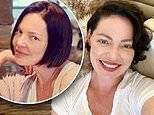 Katherine Heigl flaunts chic hairdo after transforming from blonde to brunette for Netflix series